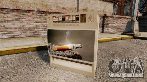 Nuevas máquinas expendedoras para GTA 4 adelante de pantalla