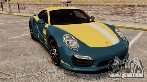 Porsche 911 Turbo 2014 [EPM] Alpinestars para GTA 4