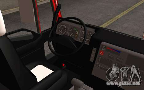 Iveco EuroTech 6x4 Doors para visión interna GTA San Andreas