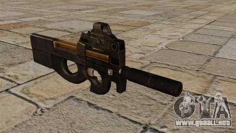 P90 subfusil ametrallador nuevo para GTA 4