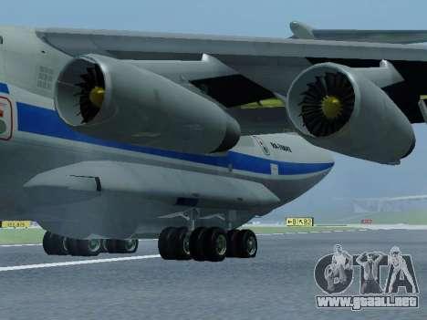 Il-76td v1.0 para GTA San Andreas vista posterior izquierda