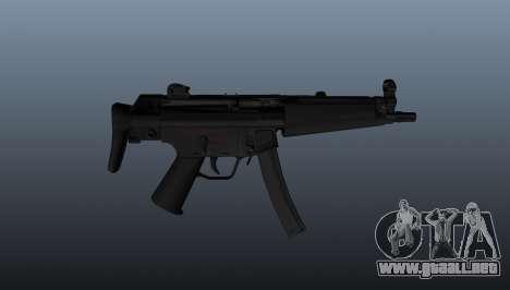 Ametralladora HK MP5A5 para GTA 4 tercera pantalla
