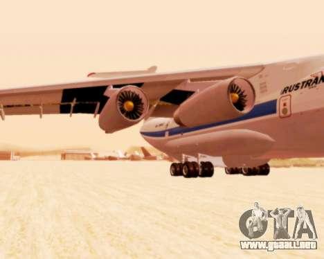 Il-76td v2.0 para la visión correcta GTA San Andreas