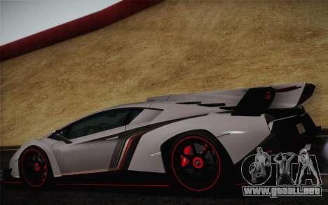 Lamborghini Veneno LP750-4 2013 para la visión correcta GTA San Andreas
