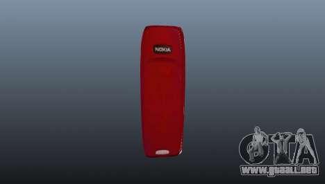 Explotando Nokia 3310 para GTA 4 segundos de pantalla