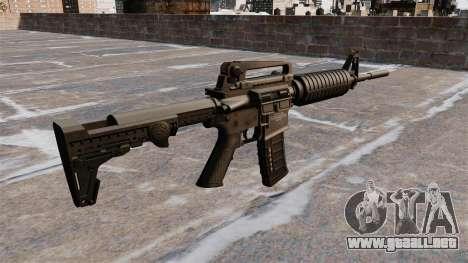 Fusil semiautomático AR-15 para GTA 4 segundos de pantalla