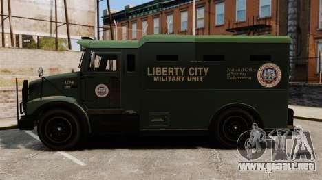 Military Enforcer para GTA 4 visión correcta