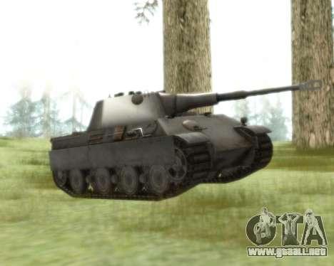 Pzkpfw V Panther II para GTA San Andreas left