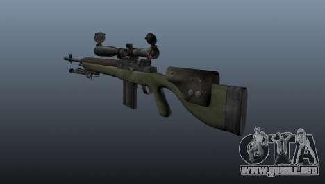Rifle de francotirador OSV-96 para GTA 4 segundos de pantalla