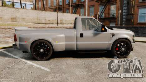 Ford F-350 Pitbull v2.0 para GTA 4 left
