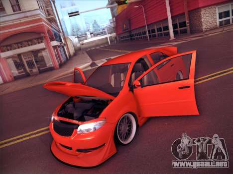 Toyota Vios Modified Indonesia para vista inferior GTA San Andreas