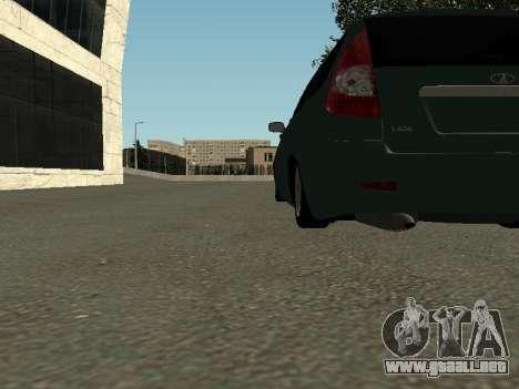 VAZ-2171 para visión interna GTA San Andreas