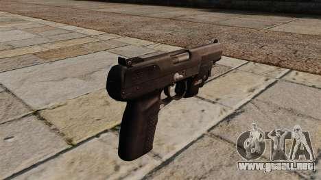 Pistola FN Five-seveN para GTA 4 segundos de pantalla