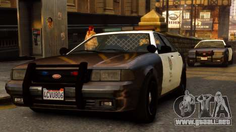 GTA V Police Cruiser para GTA 4