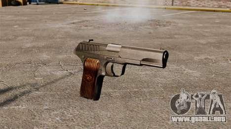 Pistola semiautomática TT-33 para GTA 4