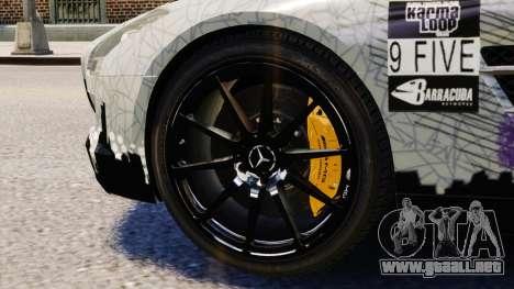 Mercedes Benz SLS AMG 2011 v3.0 [EPM] para GTA 4 vista lateral