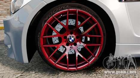 BMW 1 M 2011 para GTA 4 vista interior