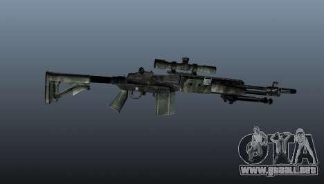Rifle de francotirador M21 Mk14 v6 para GTA 4 tercera pantalla