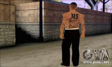 La Mara Salvatrucha Latino 3 para GTA San Andreas tercera pantalla