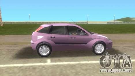 Ford Focus SVT para GTA Vice City left