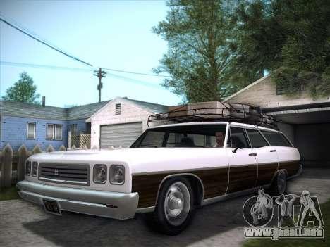 Regina from GTA V para GTA San Andreas vista posterior izquierda