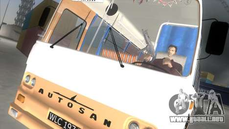 Autosan H9-21 para GTA Vice City vista lateral izquierdo