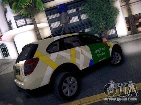 Chevrolet Google Street View Chile para GTA San Andreas vista posterior izquierda
