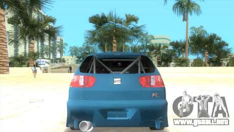 Seat Ibiza GT para GTA Vice City left