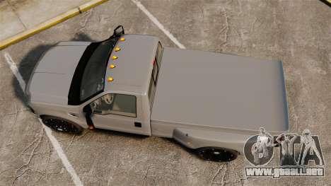 Ford F-350 Pitbull v2.0 para GTA 4 visión correcta