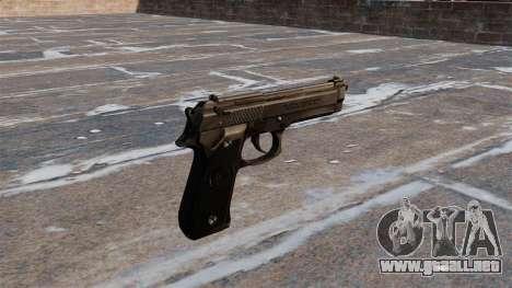 Pistola Beretta M92FS para GTA 4 segundos de pantalla