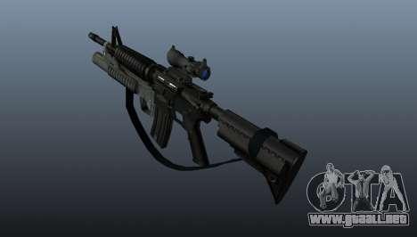 Automático carabina M4A1 v2 para GTA 4 segundos de pantalla