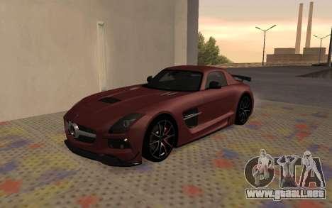 Mercedes-Benz SLS AMG 2013 Black Series para GTA San Andreas left