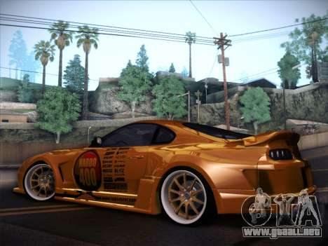 Toyota Supra Top Secret V12 para vista inferior GTA San Andreas