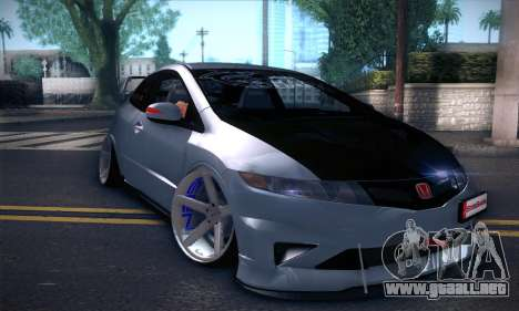 Honda Civic Type R Mugen para GTA San Andreas left