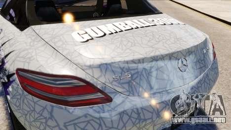 Mercedes Benz SLS AMG 2011 v3.0 [EPM] para GTA 4 vista superior