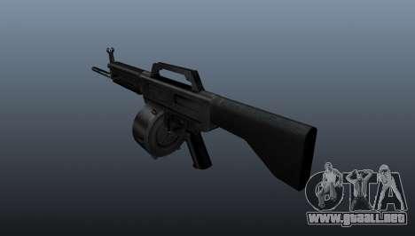 Escopeta Daewoo USAS-12 para GTA 4 segundos de pantalla