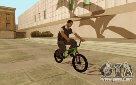 BMX para vista lateral GTA San Andreas