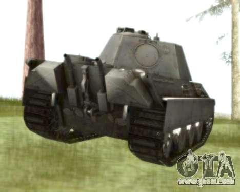 Pzkpfw V Panther II para la visión correcta GTA San Andreas