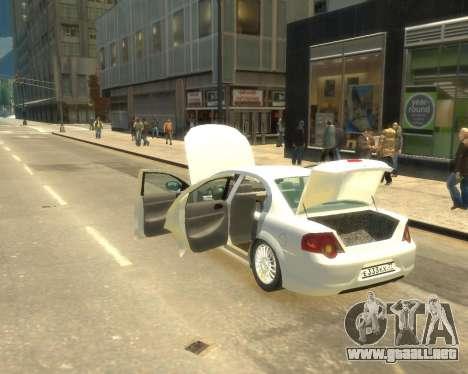 Sajber Volga GAZ para GTA 4 visión correcta