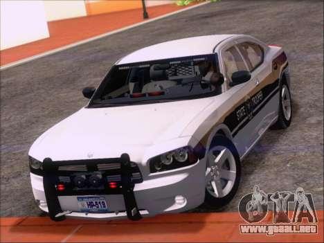Dodge Charger San Andreas State Trooper para vista inferior GTA San Andreas