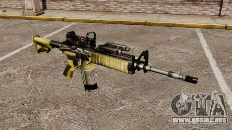Automática M4 rojo Dop v2 para GTA 4