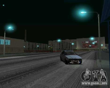 BMW 5 E34 calambres-er para GTA San Andreas vista posterior izquierda