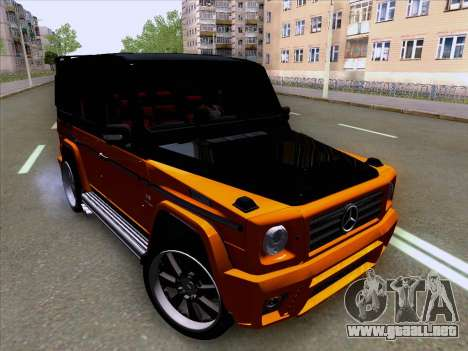 Mercedes-Benz G55 para GTA San Andreas left