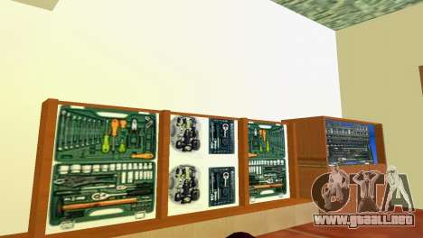 Tienda de herramientas para GTA Vice City tercera pantalla