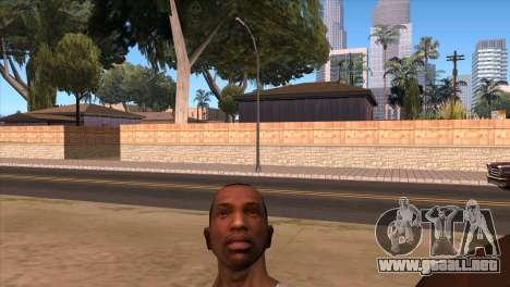 La cámara en el GTA V para GTA San Andreas