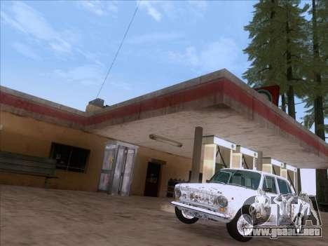 VAZ 21011 Cottage para GTA San Andreas vista hacia atrás