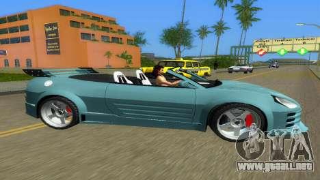 Mitsubishi Eclipse GT 2001 para GTA Vice City left
