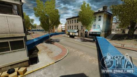 Alrededor de la ciudad a la deriva para GTA 4 tercera pantalla
