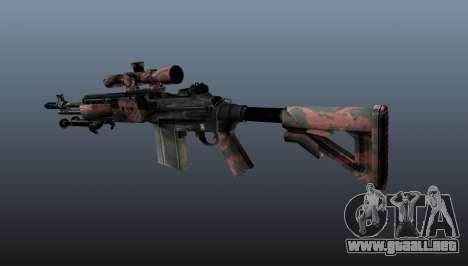 Rifle de francotirador M21 Mk14 v5 para GTA 4 segundos de pantalla