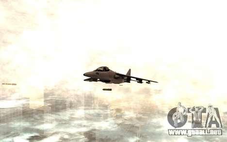 El nuevo misil para GTA San Andreas segunda pantalla